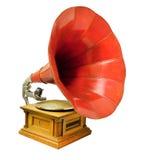 Uitstekende muzikale grammofoon Royalty-vrije Stock Afbeeldingen