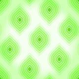 Uitstekende naadloze achtergrond met groene bladeren stock illustratie