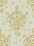 Uitstekende naadloze bloemenachtergrond Stock Afbeelding
