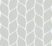 Uitstekende naadloze muurtegels van grijze bladvorm stock illustratie