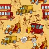 Uitstekende Naadloze Vervoer royalty-vrije illustratie