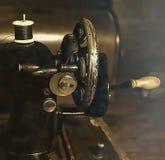 Uitstekende naaimachine Close-up Royalty-vrije Stock Foto