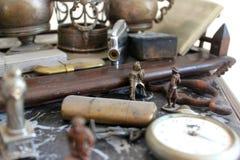 Uitstekende objecten inzameling Stock Foto's