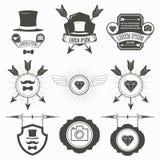 Uitstekende ontwerpelementen Royalty-vrije Stock Afbeeldingen
