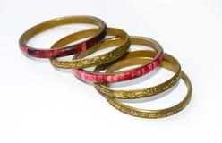 Uitstekende oosterse armbanden Royalty-vrije Stock Fotografie