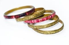 Uitstekende oosterse armbanden Royalty-vrije Stock Afbeeldingen