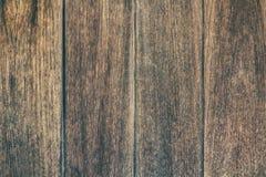 Uitstekende oppervlakte houten lijst en de rustieke achtergrond van de korreltextuur Stock Afbeelding