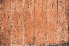 Uitstekende oppervlakte houten lijst en de rustieke achtergrond van de korreltextuur Royalty-vrije Stock Afbeelding
