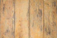 Uitstekende oppervlakte houten lijst en de rustieke achtergrond van de korreltextuur Royalty-vrije Stock Foto's