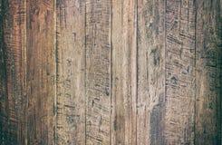 Uitstekende oppervlakte houten lijst en de rustieke achtergrond van de korreltextuur Royalty-vrije Stock Afbeeldingen