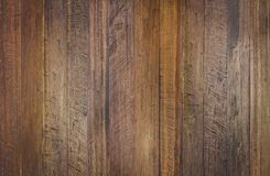 Uitstekende oppervlakte houten lijst en de rustieke achtergrond van de korreltextuur Stock Fotografie