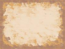 Uitstekende Oranje Achtergrond stock afbeelding