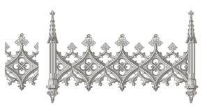 Uitstekende Ornamentvector stock illustratie