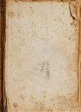 Uitstekende oude document boekachtergrond Royalty-vrije Stock Afbeelding
