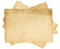 Uitstekende oude document textuur Royalty-vrije Stock Foto's