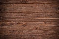Uitstekende oude donkere bruine houten textuur als achtergrond Royalty-vrije Stock Foto