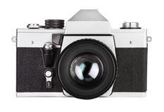 Uitstekende oude film foto-camera Stock Foto's