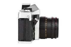 Uitstekende oude film foto-camera Royalty-vrije Stock Afbeeldingen