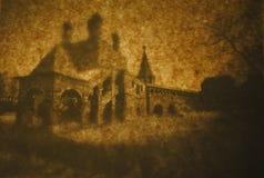Uitstekende oude manor Royalty-vrije Stock Fotografie
