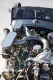 Uitstekende Packard-motor van een auto tijdens de Wereld van Snelheid 2012. Stock Foto's