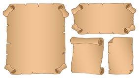 Uitstekende parchmentsinzameling 3 Royalty-vrije Stock Foto's