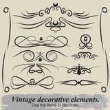 Uitstekende patronen Royalty-vrije Stock Afbeeldingen