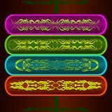 Uitstekende patronen voor decoratie Royalty-vrije Stock Afbeelding