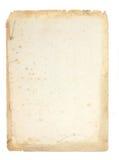 Uitstekende pergament. Stock Foto's