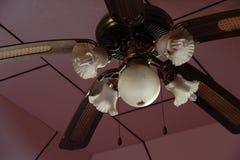 Uitstekende plafondventilatorlamp Royalty-vrije Stock Foto