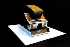 Uitstekende Polaroidcamera Royalty-vrije Stock Foto's