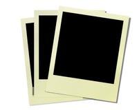 Uitstekende polaroidframes Royalty-vrije Stock Afbeelding