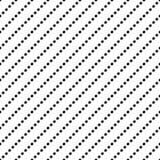 Uitstekende Polka Dot Seamless Pattern Royalty-vrije Stock Foto