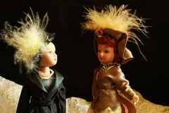Uitstekende pop Stock Foto's