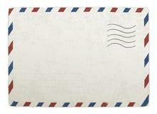Uitstekende postenvelop. Stock Afbeeldingen