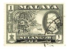 Uitstekende postzegel Royalty-vrije Stock Fotografie