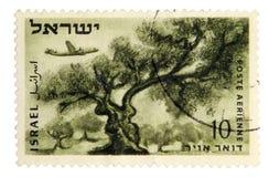 Uitstekende postzegel Royalty-vrije Stock Afbeeldingen