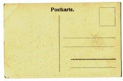Uitstekende prentbriefkaar Stock Foto