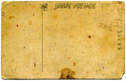 Uitstekende prentbriefkaar   Stock Fotografie