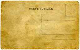 Uitstekende prentbriefkaar. Royalty-vrije Stock Foto