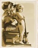 Uitstekende prentbriefkaar Royalty-vrije Stock Fotografie