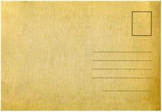 Uitstekende prentbriefkaar. Stock Foto's