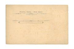 Uitstekende Prentbriefkaar stock afbeeldingen