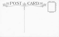 Uitstekende prentbriefkaar Stock Foto's