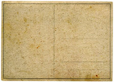 Uitstekende prentbriefkaar. Royalty-vrije Stock Afbeeldingen