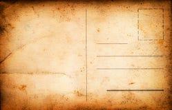 Uitstekende prentbriefkaar als achtergrond royalty-vrije stock foto's