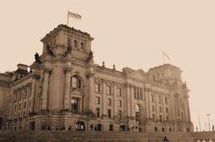 Uitstekende prentbriefkaar van Berlijn Royalty-vrije Stock Afbeeldingen