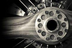 Uitstekende propeller royalty-vrije stock afbeelding