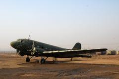 Uitstekende propellervliegtuigen Royalty-vrije Stock Afbeeldingen