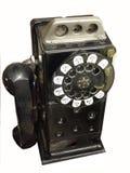 Uitstekende publieke telefooncel Stock Afbeeldingen