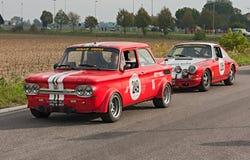 Uitstekende raceauto royalty-vrije stock fotografie